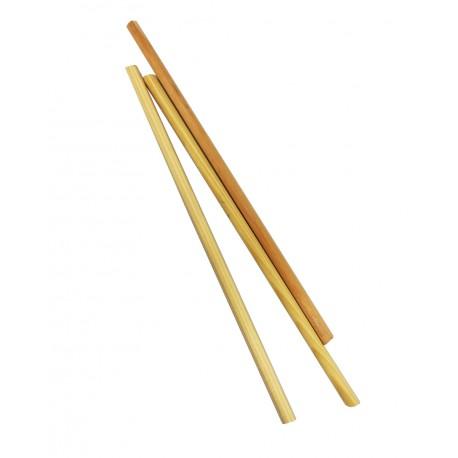 barra redonda de madera