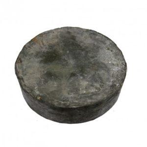 Base de plomo redonda